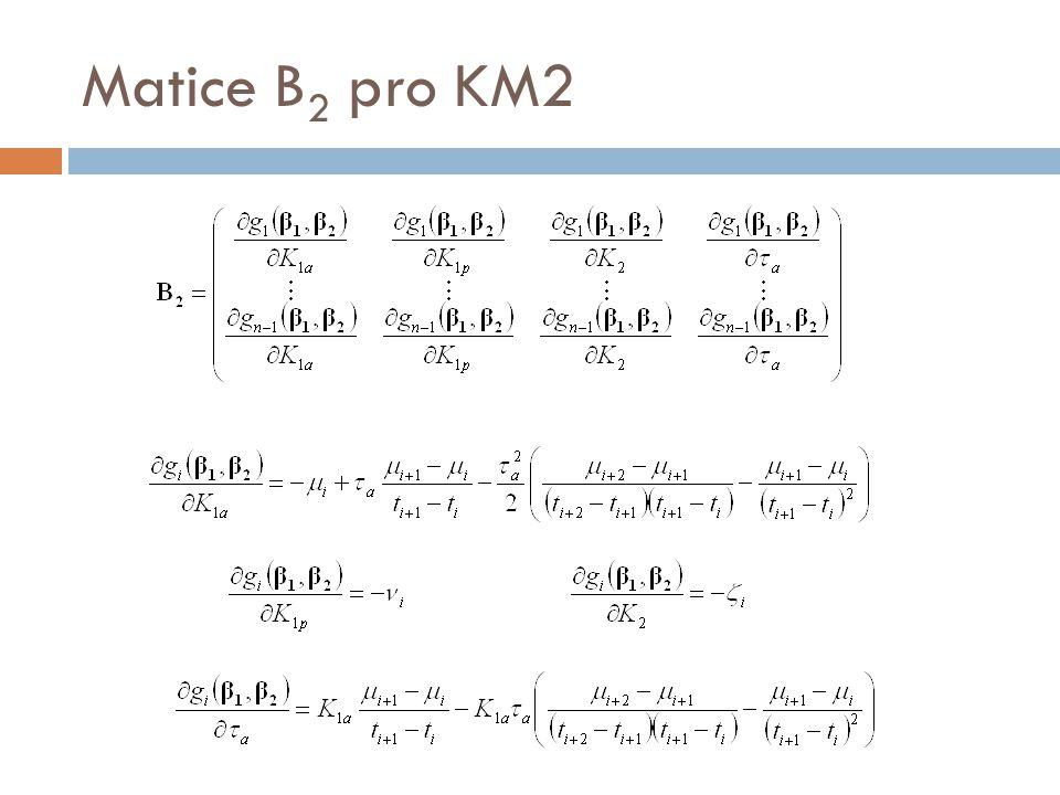 Matice B 2 pro KM2