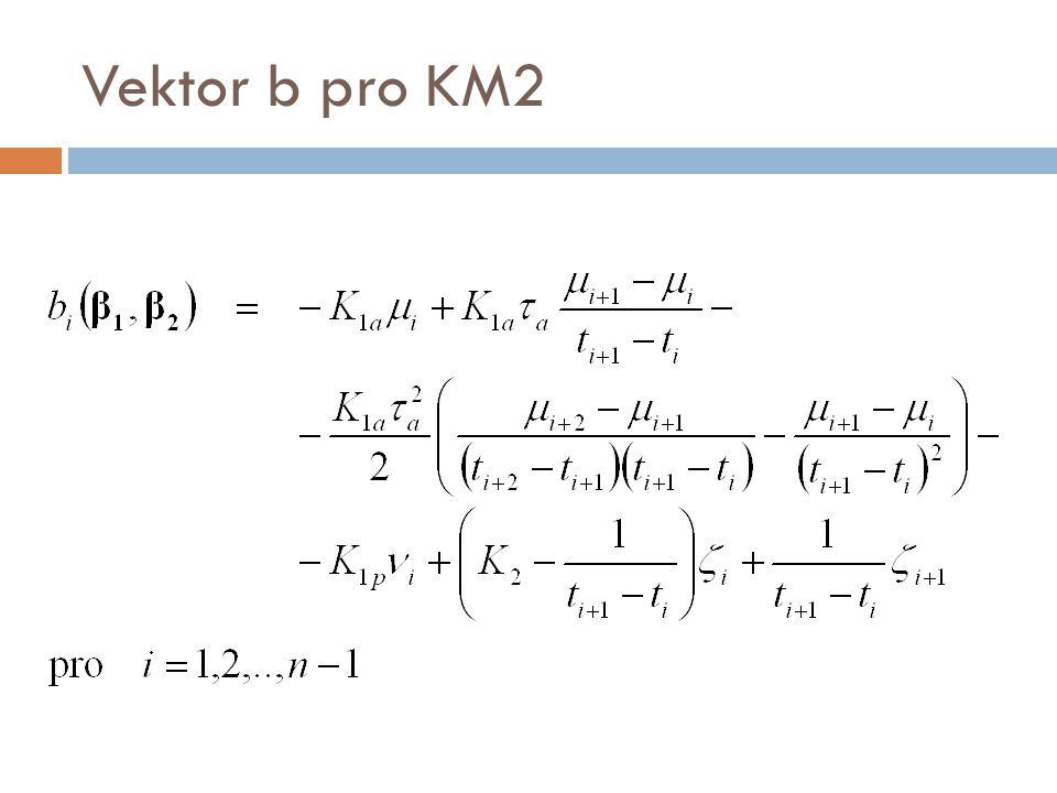 Vektor b pro KM2