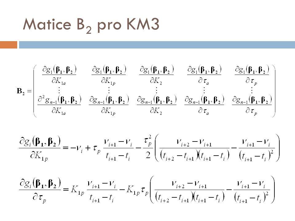 Matice B 2 pro KM3