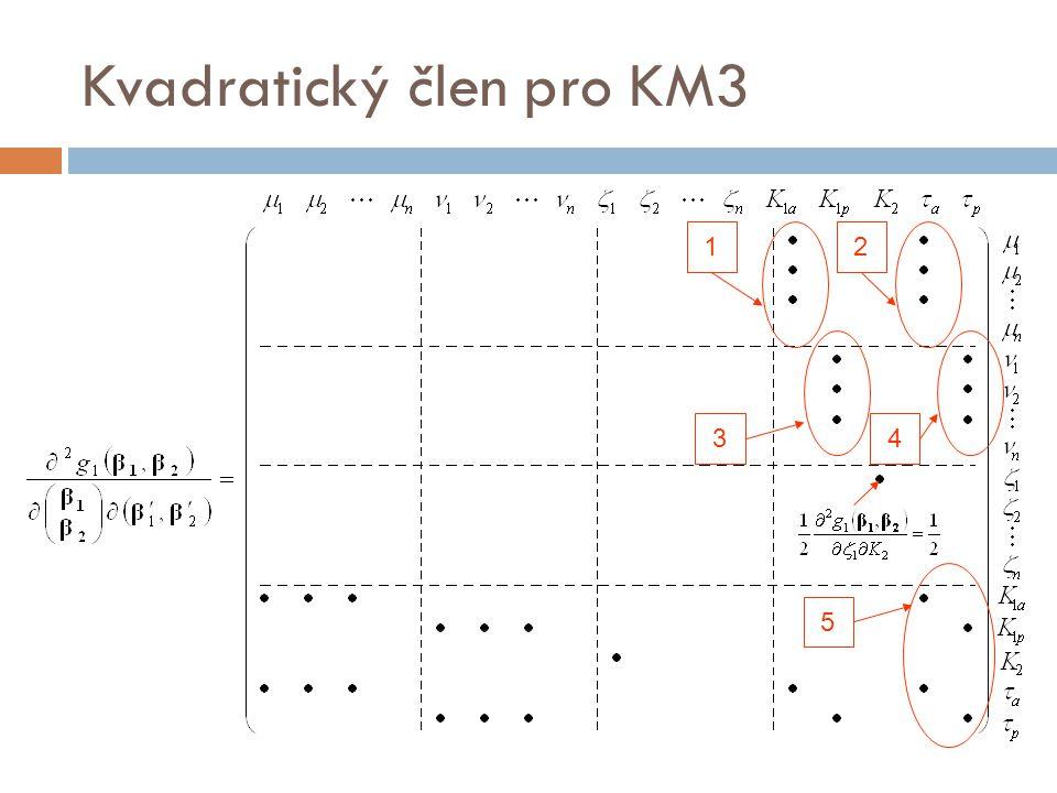 Kvadratický člen pro KM3 21 34 5