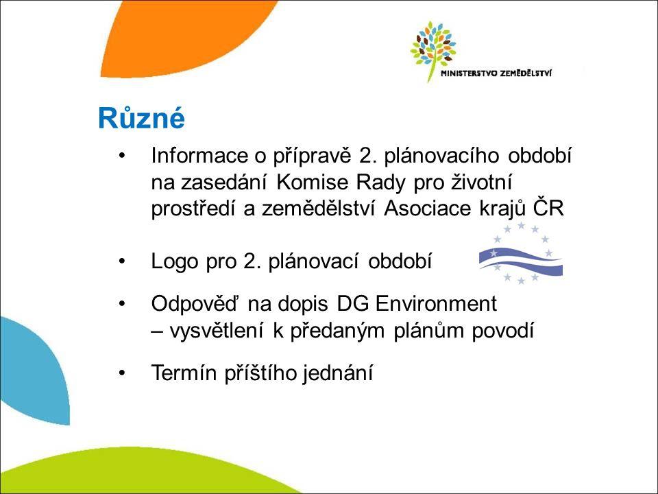 Různé Informace o přípravě 2.
