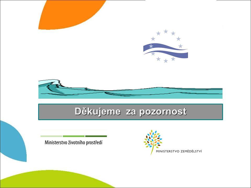 Zabezpečení dostačujících ekologických funkcí vodního toku § - 36 Minimální zůstatkový průtok Děkujeme za pozornost