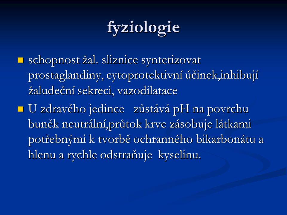 fyziologie schopnost žal.