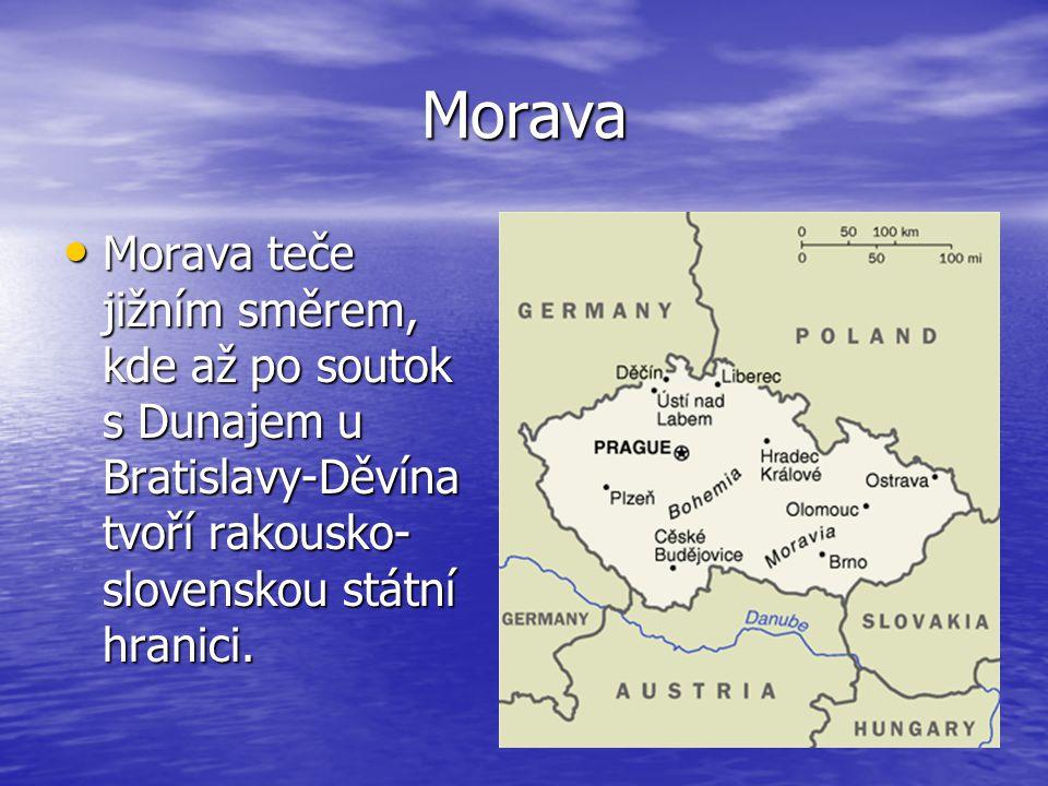 Odra je druhou nejdelší řekou v Polsku je druhou nejdelší řekou v Polsku Délka celého toku 854 km Délka celého toku 854 km Plocha povodí 118861 km2 Plocha povodí 118861 km2