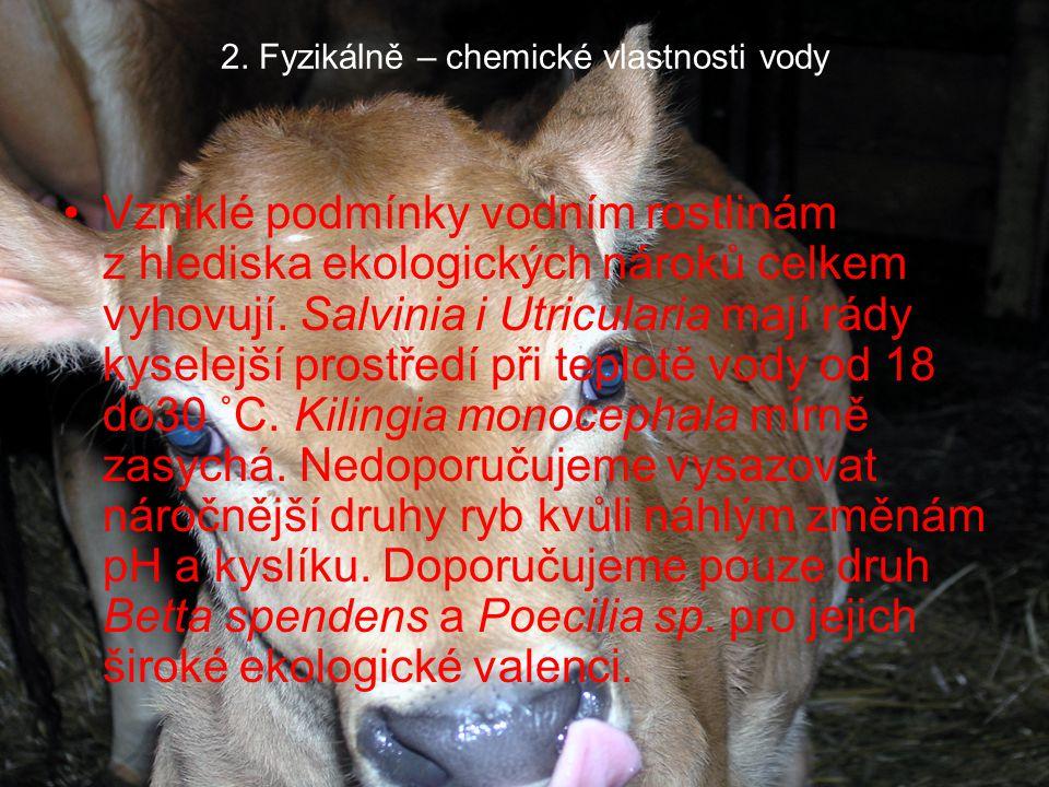 2.Fyzikálně – chemické vlastnosti vody Dne 18. 11.