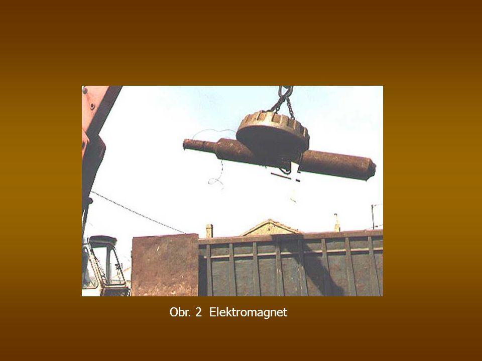 Obr. 2 Elektromagnet