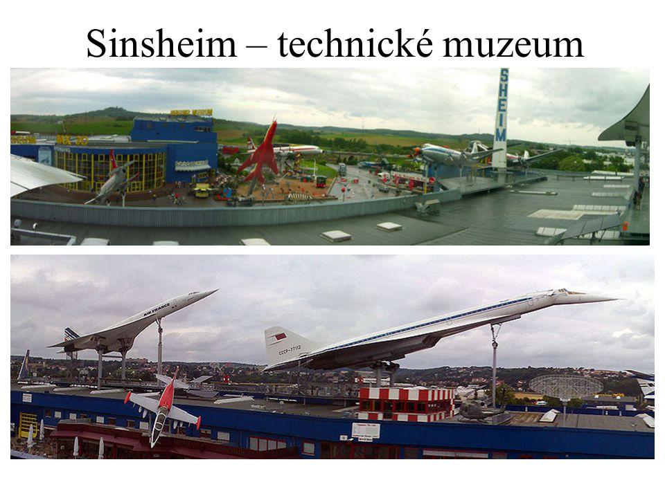 Sinsheim – technické muzeum