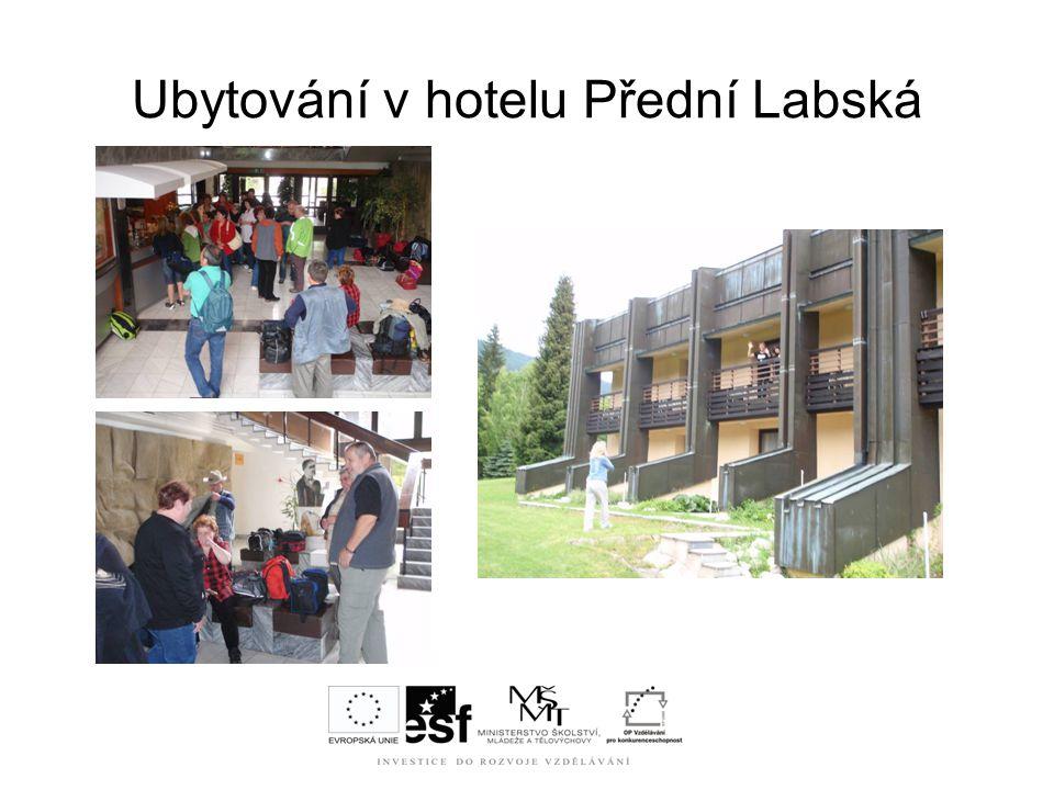 Ubytování v hotelu Přední Labská