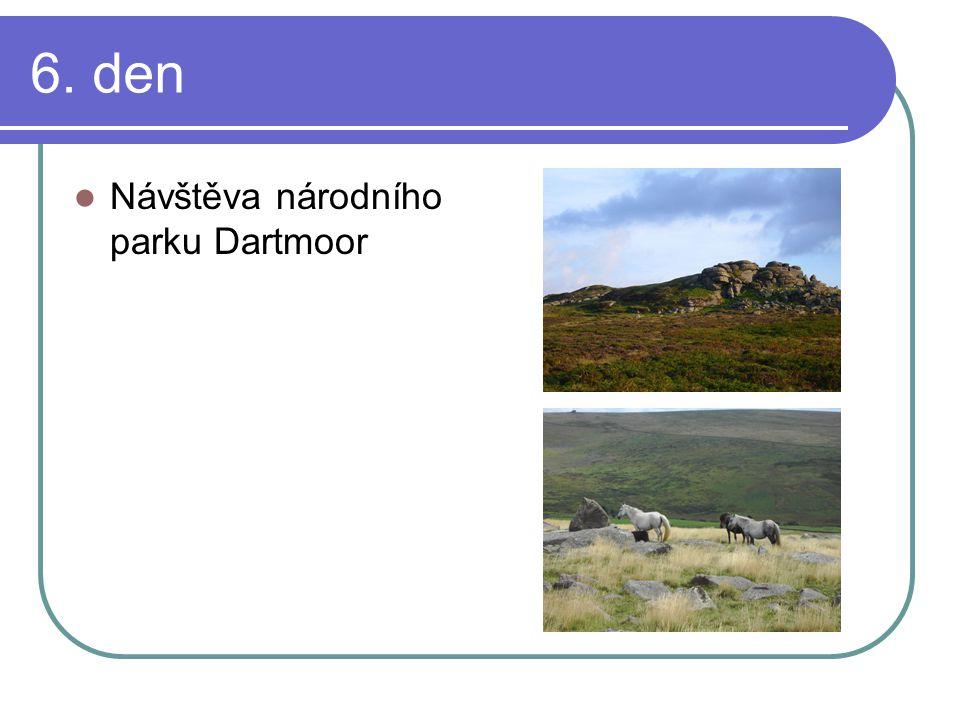 6. den Návštěva národního parku Dartmoor