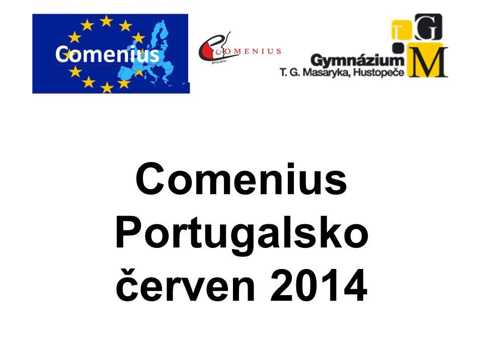 Comenius Portugalsko červen 2014