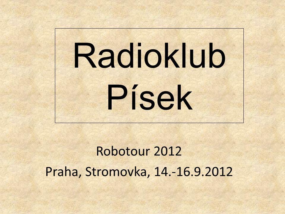 Radioklub Písek Robotour 2012 Praha, Stromovka, 14.-16.9.2012