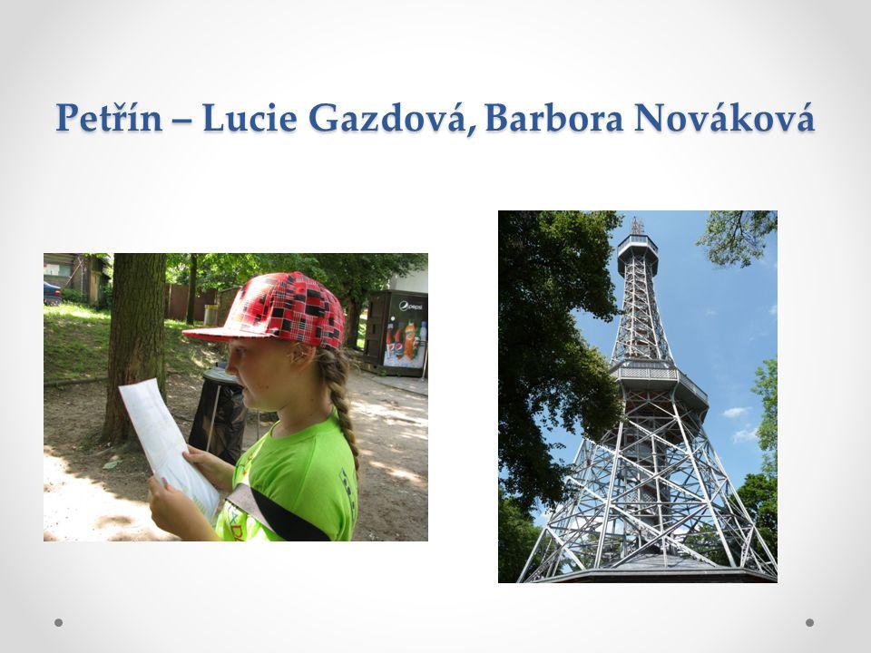 Petřín – Lucie Gazdová, Barbora Nováková