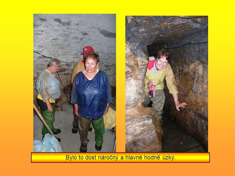 Jsme v Slavonicích a jdeme se podívat do podzemí