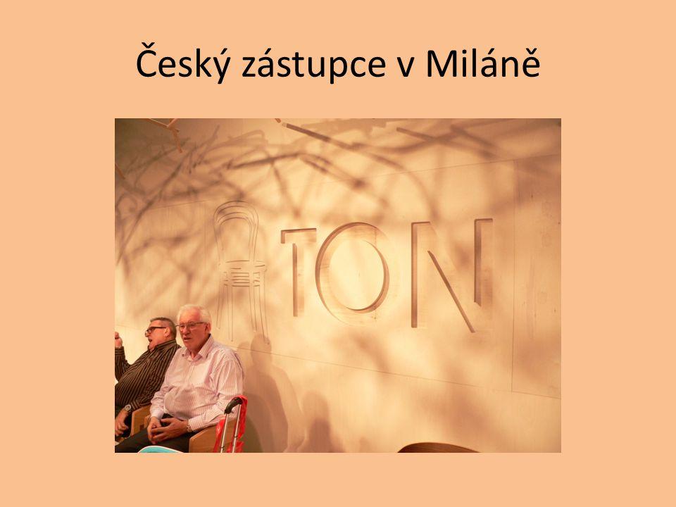 Český zástupce v Miláně