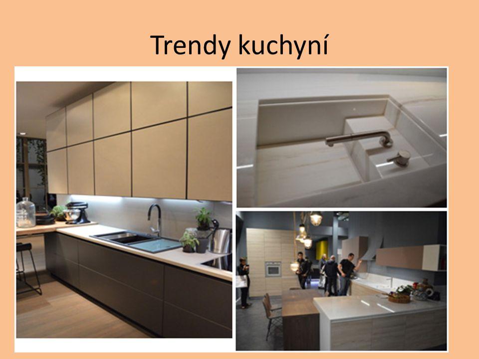 Trendy kuchyní