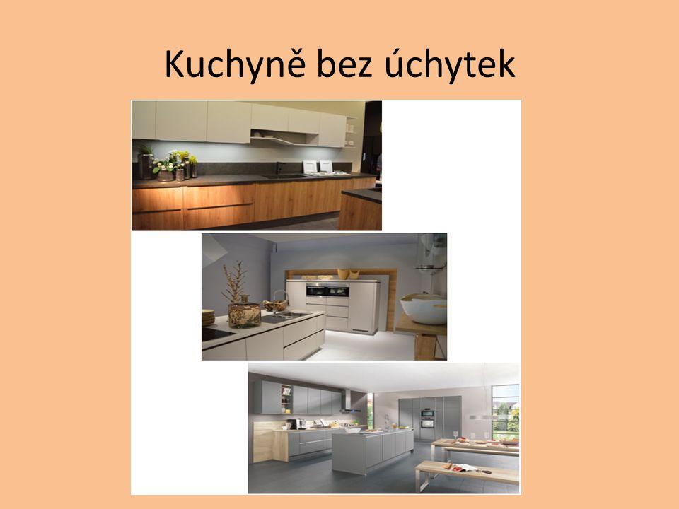 Kuchyně bez úchytek