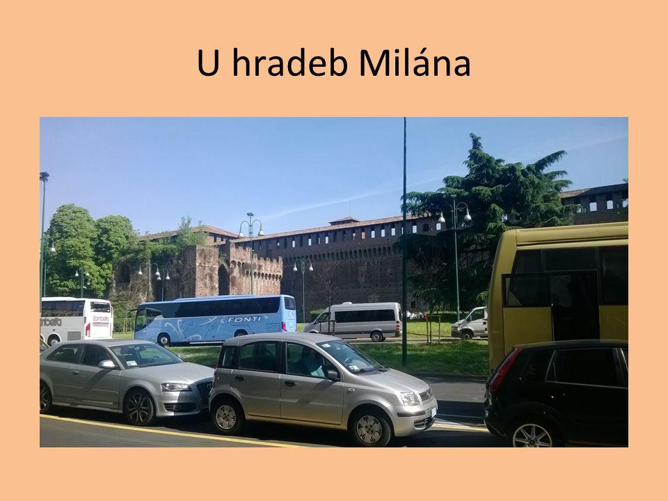 U hradeb Milána