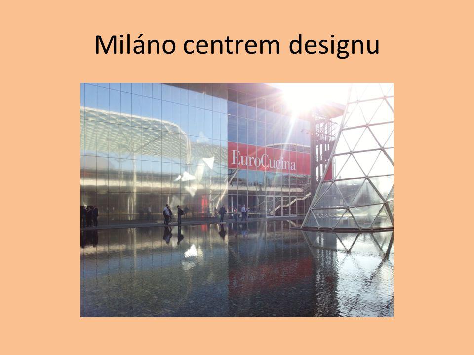 Miláno centrem designu
