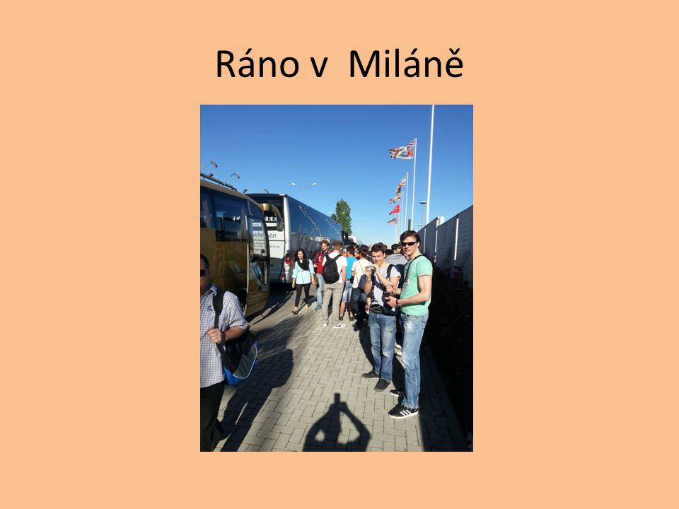 Ráno v Miláně