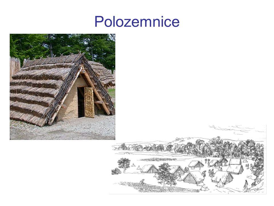 Velkomoravské hradisko na odstavných ramenech řeky Moravy v Mikulčicích Charakter slovanských tzv.