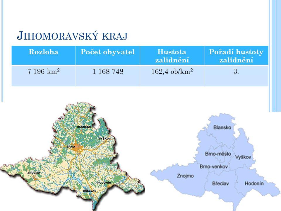 RozlohaPočet obyvatelHustota zalidnění Pořadí hustoty zalidnění 7 196 km 2 1 168 748162,4 ob/km 2 3.