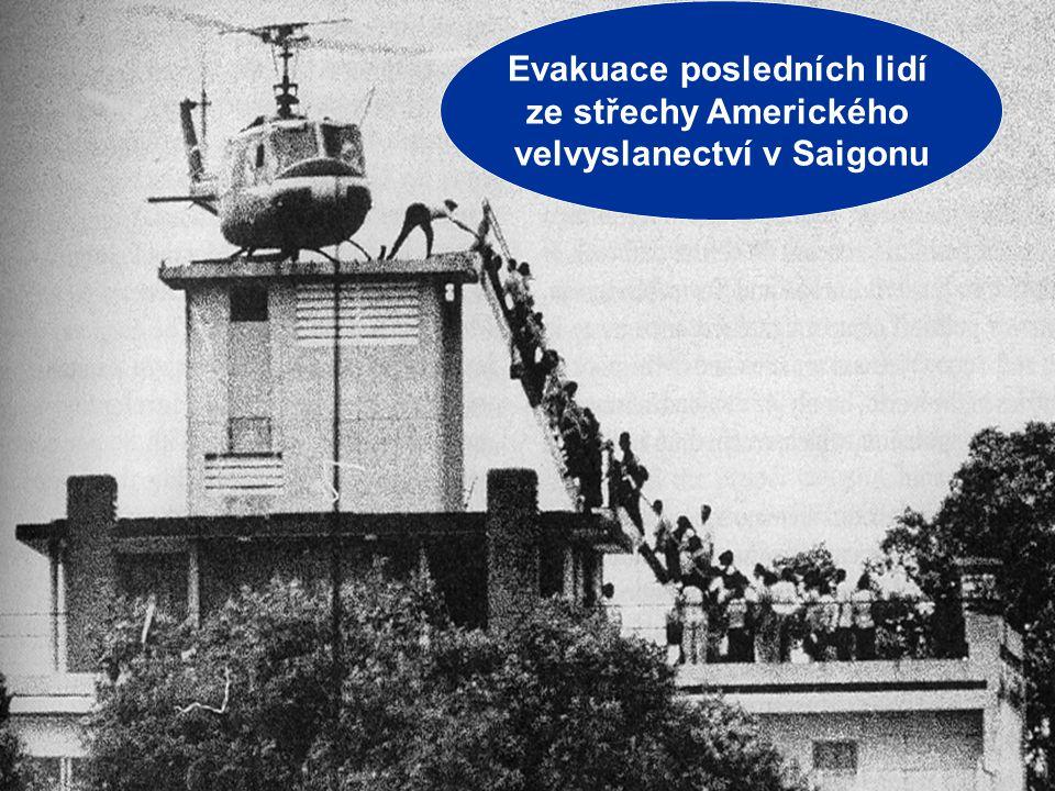 """Jiří Řehák Gymnázium Teplice 2006 11 VÁLKA VE VIETNAMU MÍR 1969 – 1973 – """"VIETNAMIZACE"""" války –USA přenechávají tíhu bojů jihovietnamské armádě a post"""