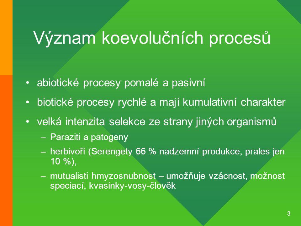 44 Mimeze (mimikry) Napodobování vzhledu a chování cizího druhu Obraná a útočná mimeze Mülerovská a Batesovská m.