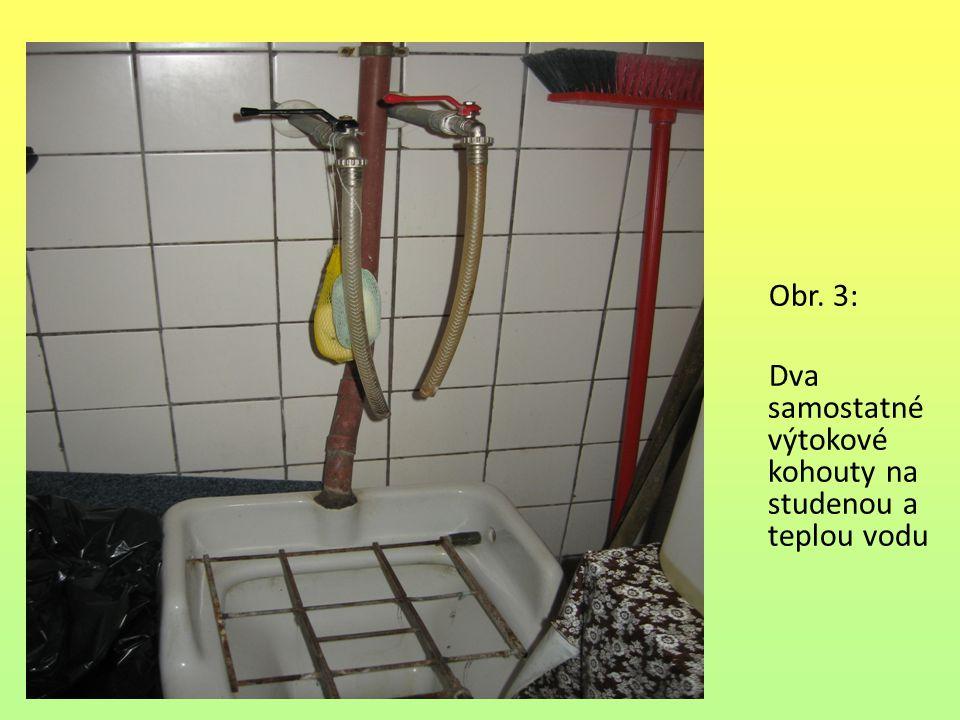 Ventily pračkové Ke každé pračce se vede samostatný výtokový ventil.
