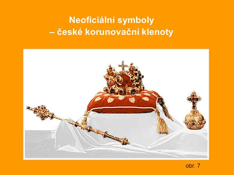 Neoficiální symboly – české korunovační klenoty obr. 7