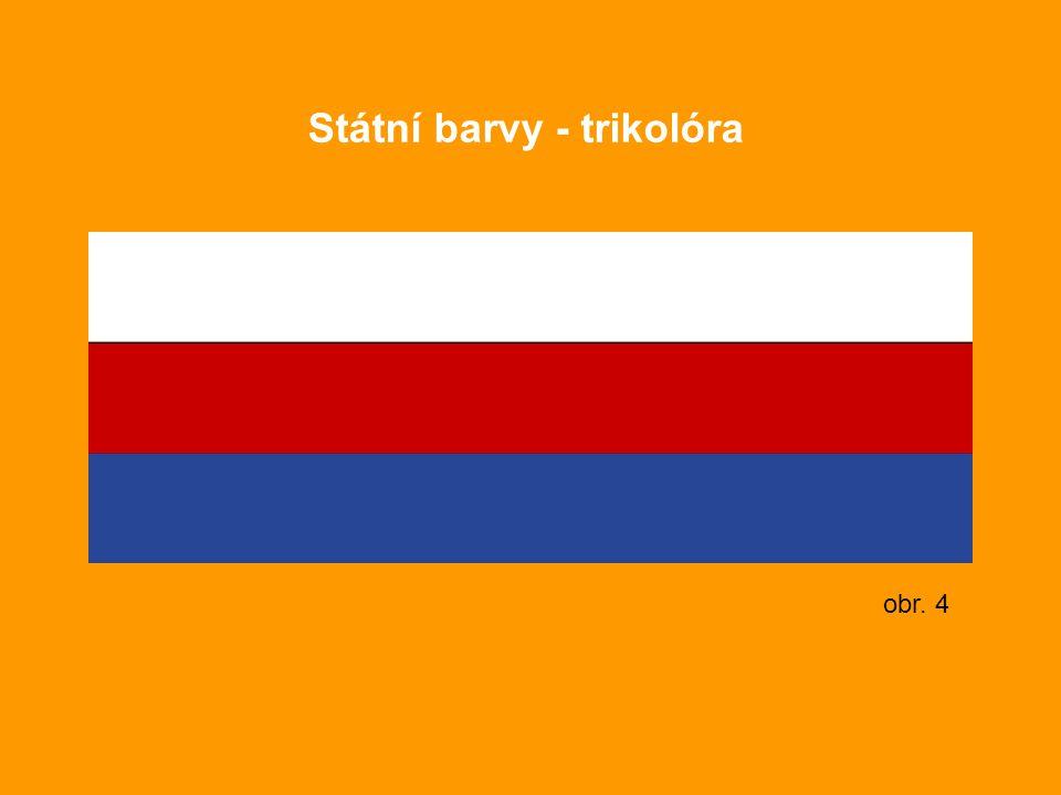 Státní barvy - trikolóra obr. 4