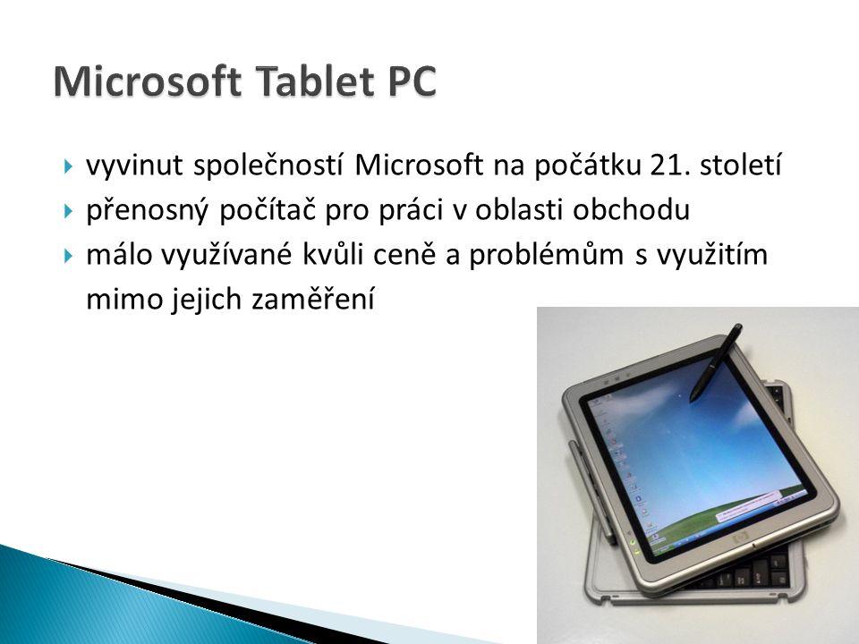  post-PC tablet od firmy Apple  vyvinut v roce 2010  využívá operační systém iOS  během roku 2010 prodáno 14,8 milionů kusů  schopen práce s mnoha typy multimediálních souborů