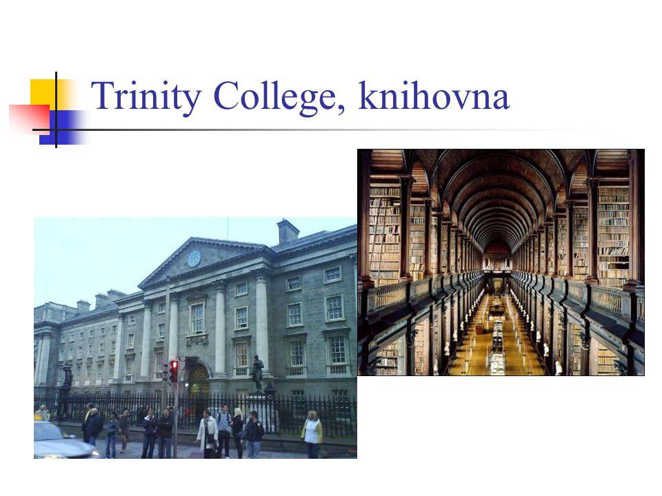 Trinity College, knihovna