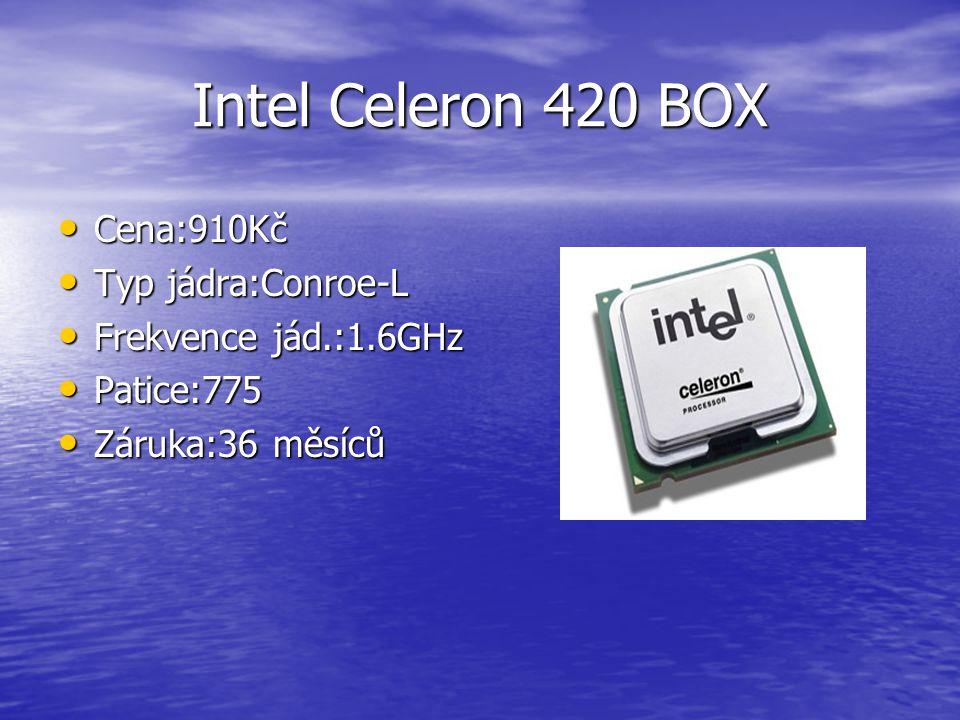 Intel Core QX6850 Extreme BOX Cena:23 730Kč Cena:23 730Kč Typ jádra:Kentsfield Typ jádra:Kentsfield Frekvence jád.:3.0GHz Frekvence jád.:3.0GHz Patice:socket775 Patice:socket775 Záruka:36 měsíců Záruka:36 měsíců