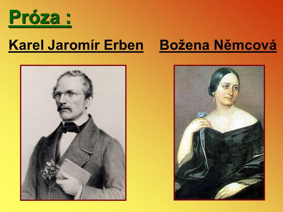 Próza : Karel Jaromír Erben Božena Němcová