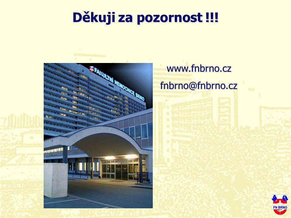 www.fnbrno.czfnbrno@fnbrno.cz Děkuji za pozornost !!!