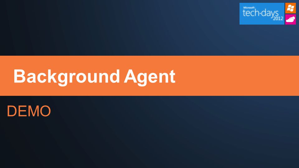 DEMO Background Agent