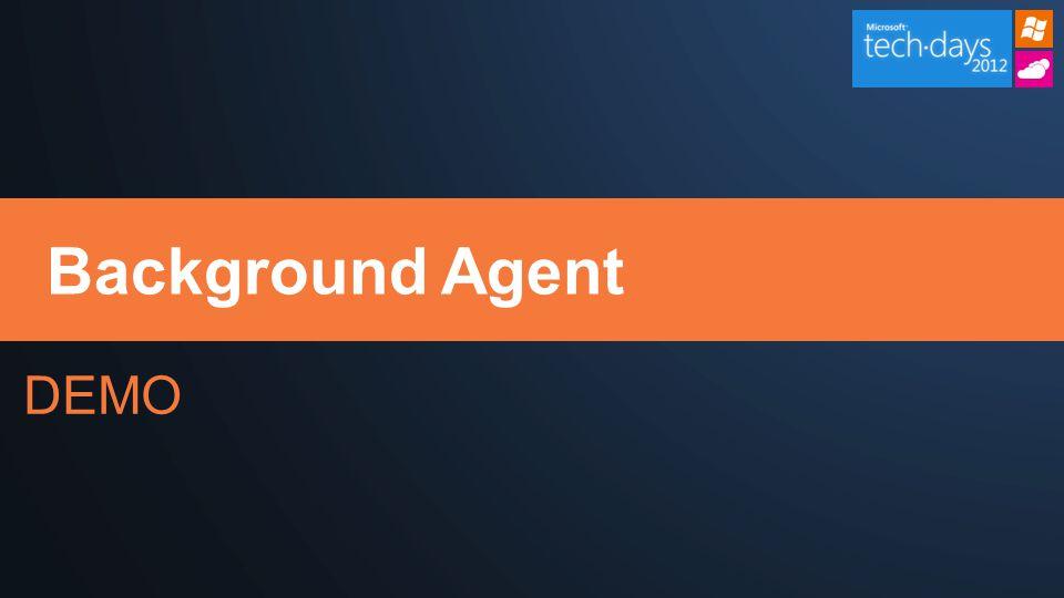 DEMO Background Agent