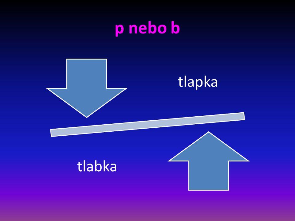 p nebo b krap krab