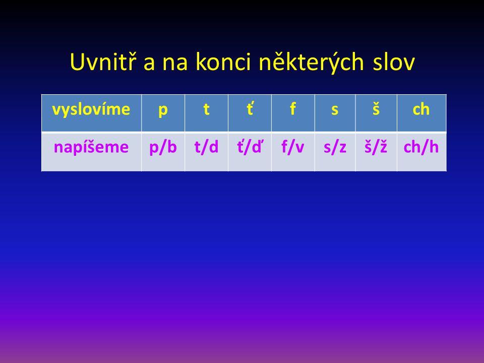 Anotace Materiál je určen pro žáky na 1. stupni ZŠ v předmětu Český jazyk Je vhodný pro práci na interaktivní tabuli Materiál obsahuje: a) prezentaci