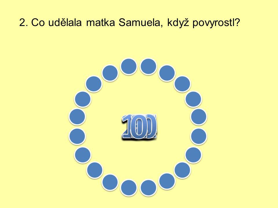 1. Kdo byl Samuel