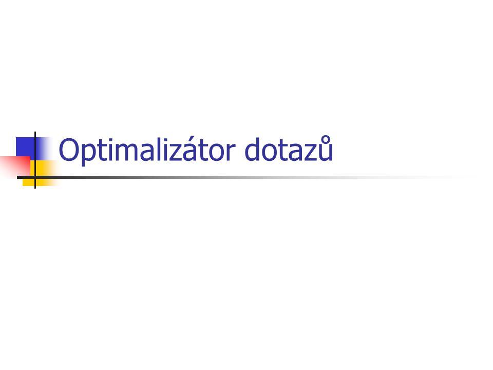 Optimalizátor dotazů