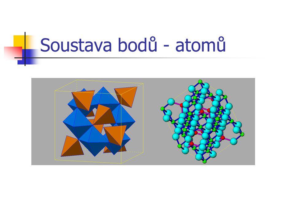 Soustava bodů - atomů