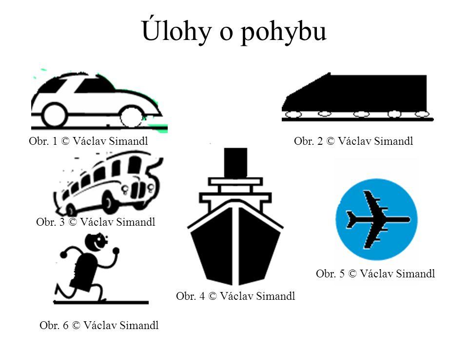 Úlohy o pohybu © Václav Simandl Obr. 1 © Václav SimandlObr.