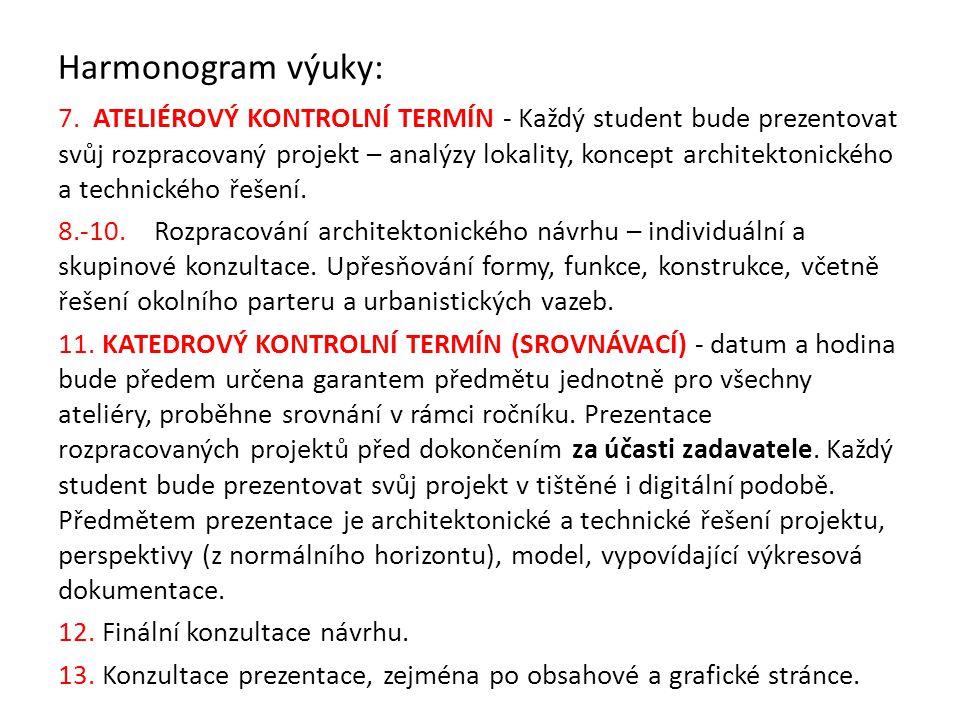 Prezentace výsledků práce Školní výstava Termín cca ve 3.