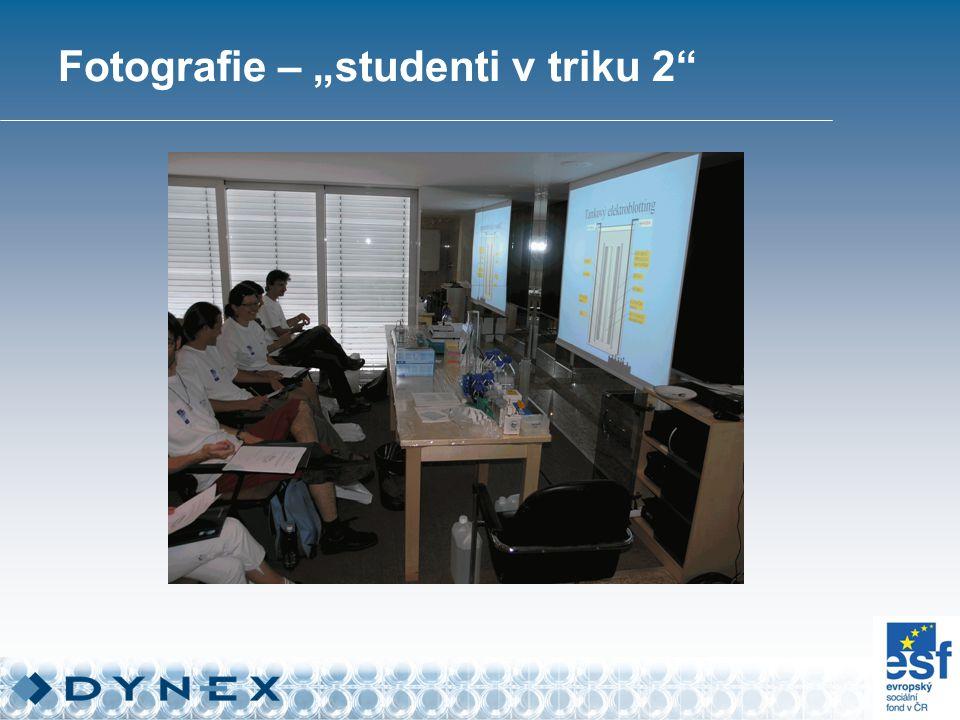 "Fotografie – ""studenti v triku 2"