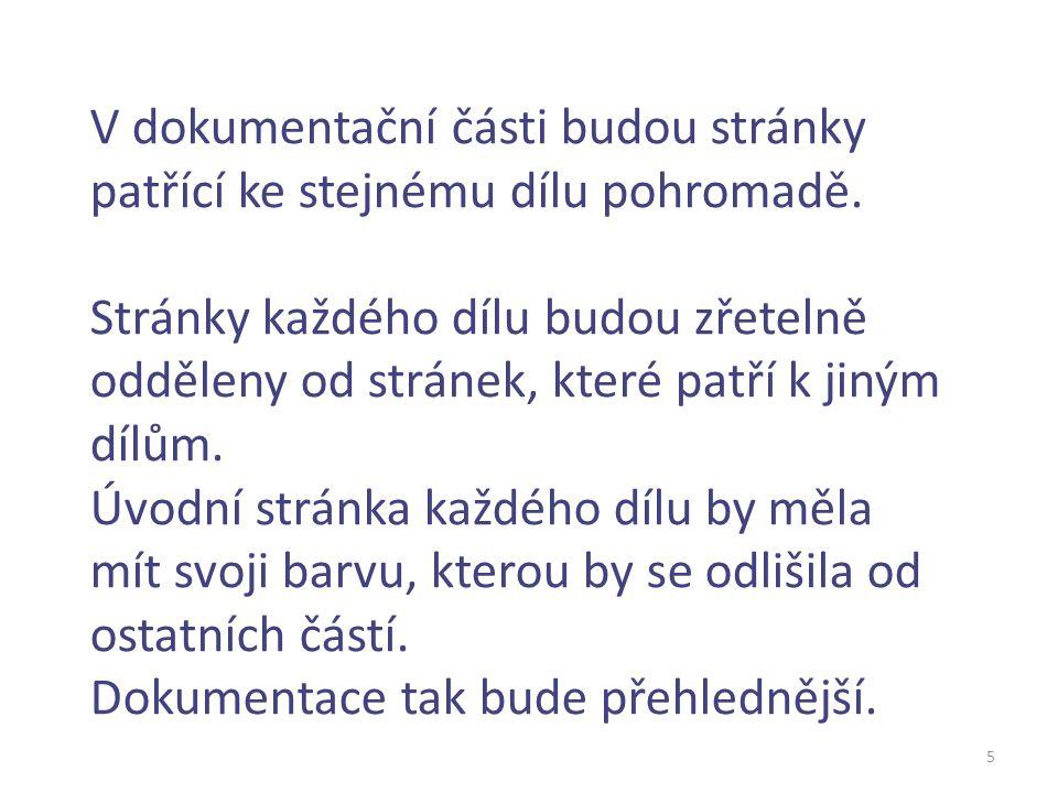 Úkoly pracovních skupin 6 Pracovní skupina č.