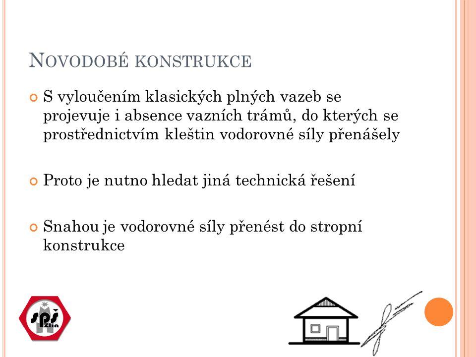 K OTVENÍ DO ZTUŽUJÍCÍHO VĚNCE Obvyklé řešení Při betonáži ztužujícího železobetonového věnce se osadí budoucí kotvy např.