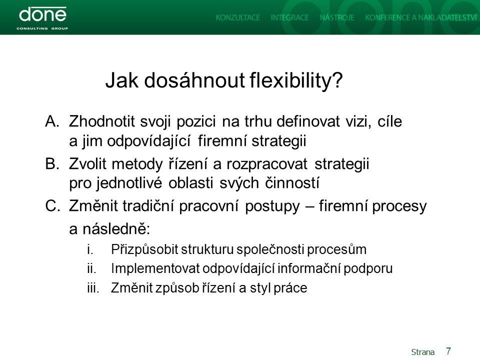 Strana Jak dosáhnout flexibility.