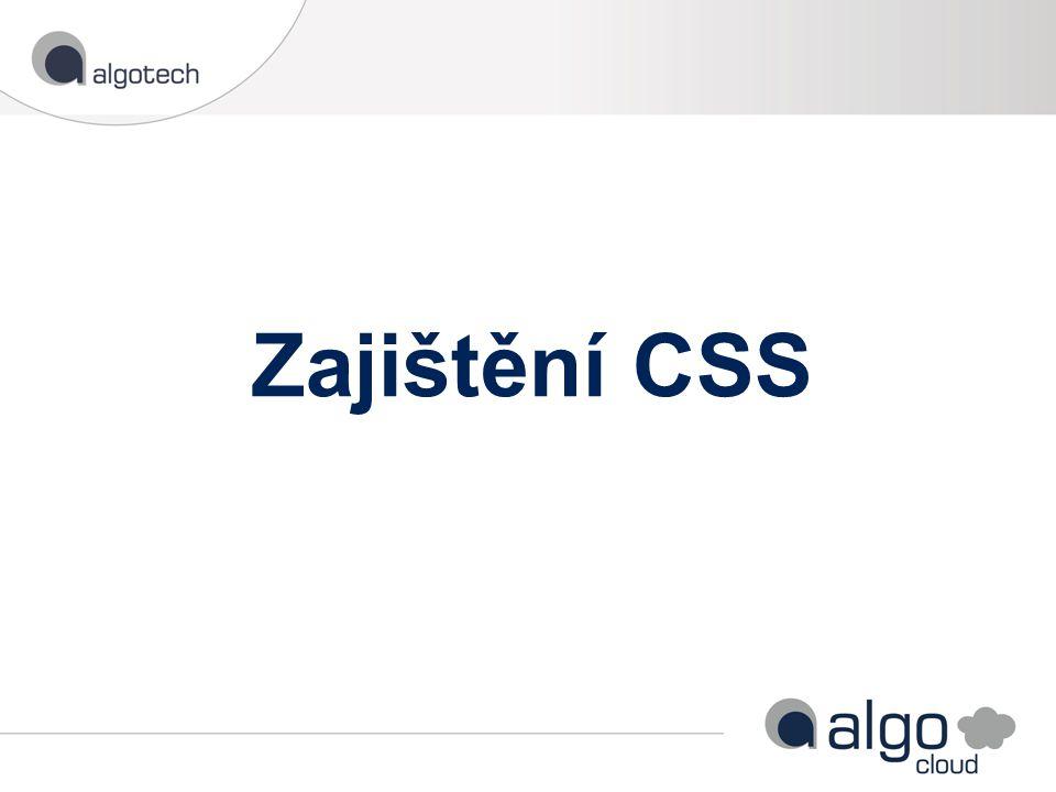 Zajištění CSS