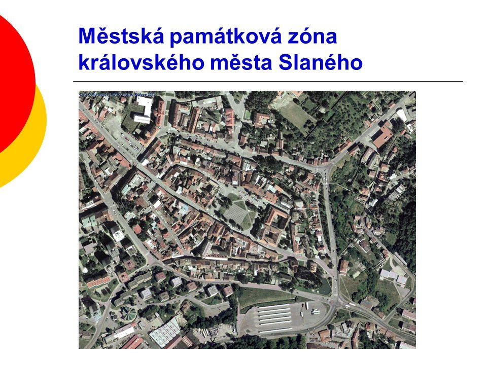 EKONOMICKÁ MOTIVACE - Fond na obnovu domů ve městě Slaném Řešené hlavní problémy: o rozsah podpory ve městě (část nebo celé?) o vlastnické vztahy (Slaňáci nebo kdokoliv?) o typ podpory (všechno nebo jen viditelné?) o jaké priority (jen MPZ nebo jiné?) o jakou roli budou mít podklady pracovníků památkové péče města (konzultační nebo závaznou?) o výše příspěvku (maximální a procentuální?)